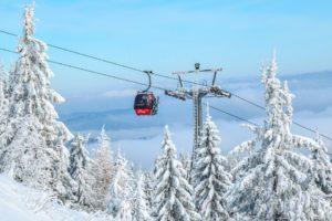 Gondole, Station De Ski, Chariot