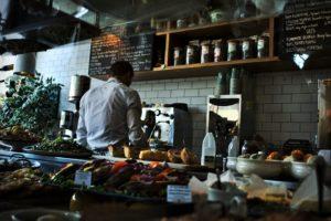 Bar, Café, Restaurant, Boutique, Contre, Vitrine